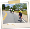 Bicyclists on Rte 187 Near Machias