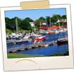 Camden Harbor & Boats