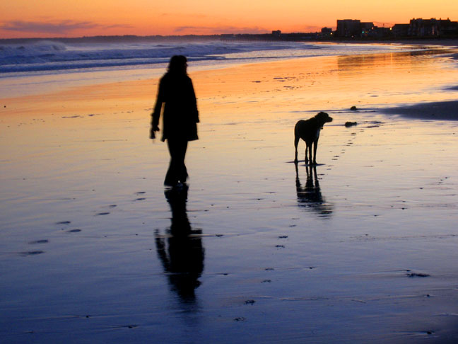 Old Orchard Beach at Sunset