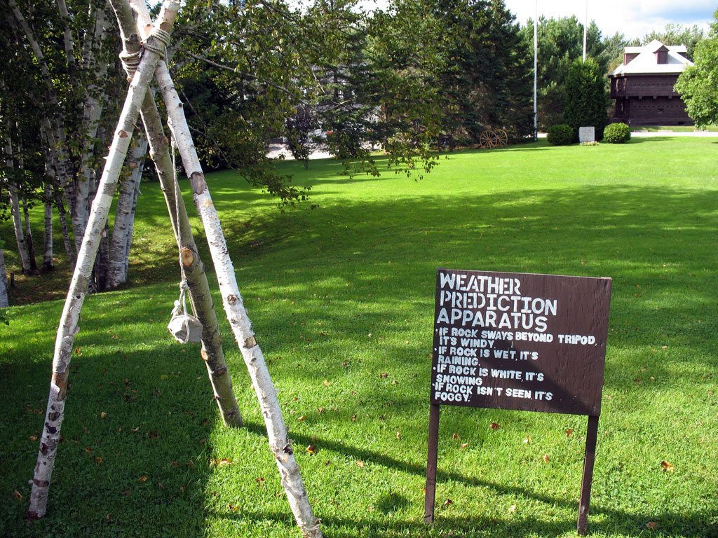 Fort Kent Block House Weather Gage