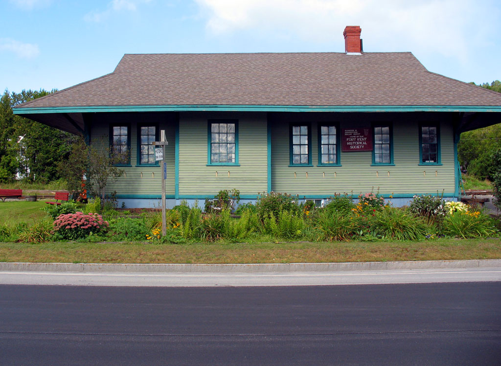 Historic Fort Kent train Station