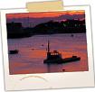 York Harbor Sunset
