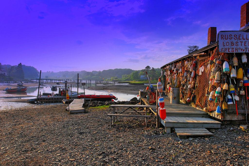 Russell's Lobster Shack - Cape Neddick