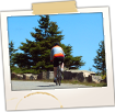 Cyclist on Park Rd