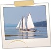 Sailboat off of Little Deer Isle