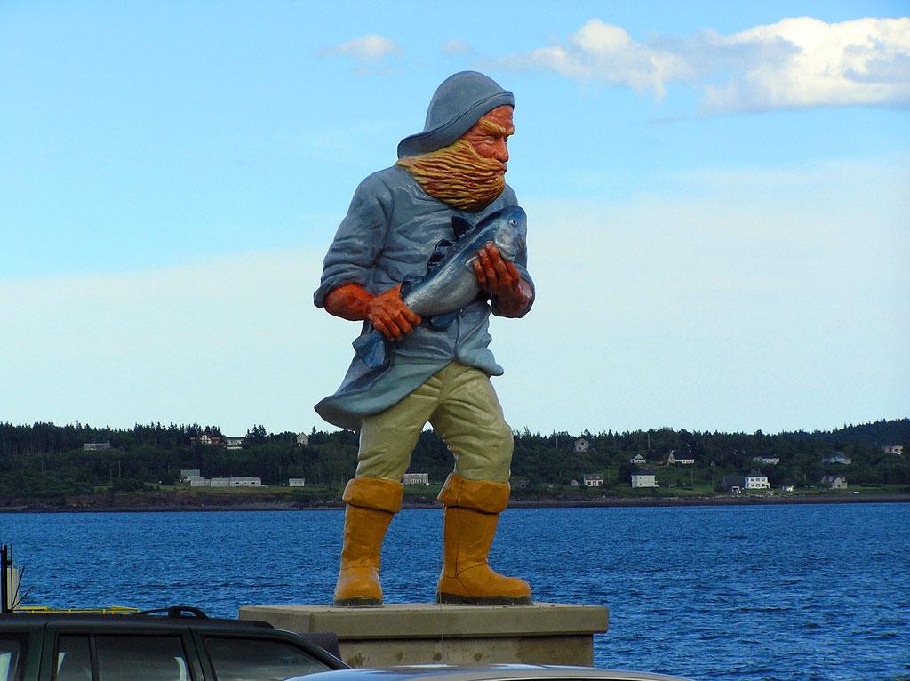 Fisherman Statue - Eastport