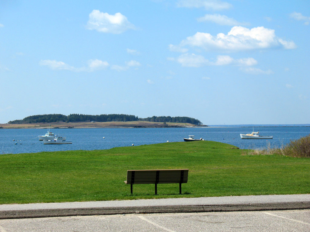 View of Richmond Island from Kettle Cove